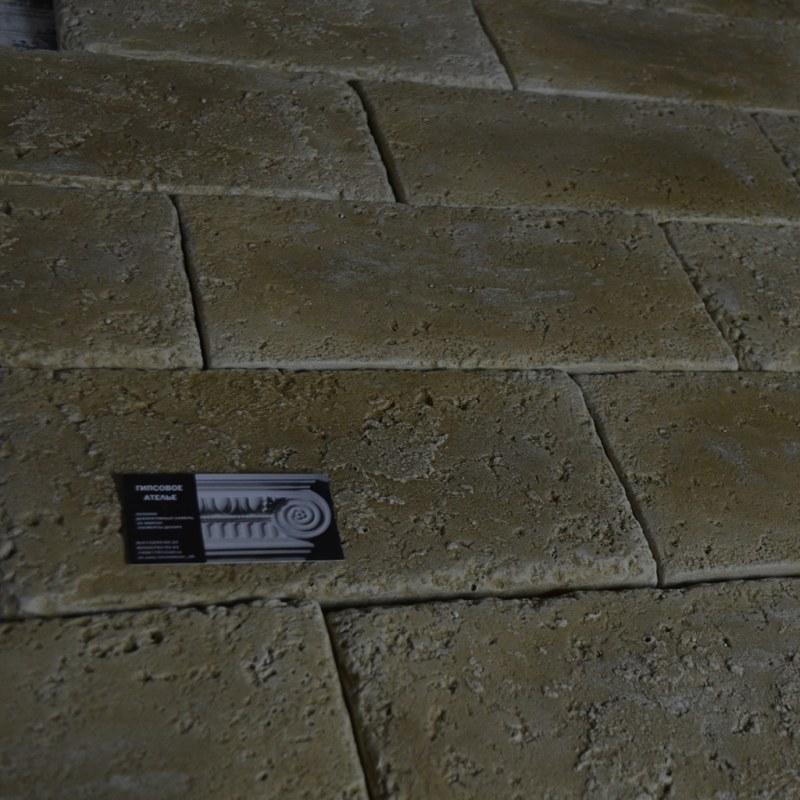 Декоративная плитка пот травертин крашенная цвет(травертин)